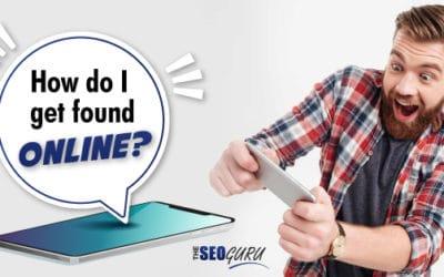 How do I get found online?